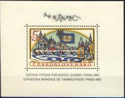 ##Czechoslovakia 1962. [98]  PRAGA'62.  Michel Block 18A. MNH(**). - Blocs-feuillets