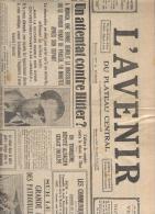 L' Avenir Du Plateau Central 10 Novembre 1939 - Journaux - Quotidiens