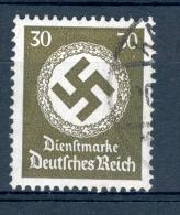 ALLEMAGNE SERVICE  REICH  ANNÉE 1934   N°  102  OBLI   DOS  CHARNIERES - Dienstzegels