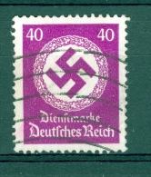 ALLEMAGNE SERVICE  REICH  ANNÉE 1934   N°  103  OBLI   DOS  CHARNIERES - Officials