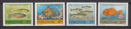 Faroyar, Faroer, 1994, Fishes, ***, MNH - Vissen
