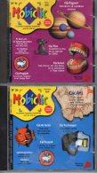 Lot De 4 MOBICLIC   N° 19 , 20 , 21 , 22 Janvier à Avril 2000     CD Rom  Mobiclic   édition Milan   Neuf - CD
