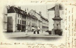 Saint Dié  PLACE ET RUE STANISLAS - Saint Die