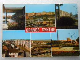 CP 59  Souvenir De GRANDE SYNTHE  - Multivue - Immeubles , Cités , HLM ( Vers Dunkerque Calais  ) - Grande Synthe