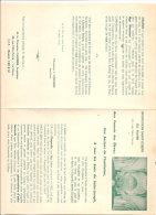 LE HAVRE INSTITUTION SAINT JOSEPH PLAQUETTE DE SOUSCRIPTION DE VITRAUX POUR LA CHAPELLE 1957 - Documents Historiques