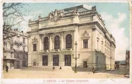 5206. Postal CETTE (Pyrenées Atlantiques). Theatre Municipal - Sin Clasificación