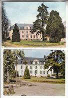 """GIRONVILLE SUR ESSONNE 91 - Petit Lot De 2 CPSM CPM  : Chateau Et Colonie De Vacances """" Rhône Poulenc """"  - Essonne - Andere Gemeenten"""