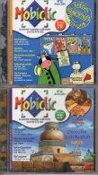 Lot De 4 MOBICLIC   N° 31 , 32 , 33 , 34 Mars à Août 2001     CD Rom  Mobiclic   édition Milan   Neuf - CD