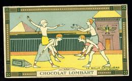 Chromo Chocolat Lombart  La Balle Cavalière Chez Les égyptiens - Cioccolato