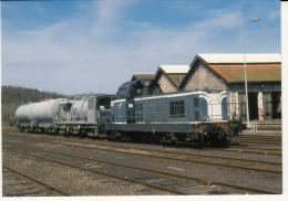 CF 197 Train De Désherbage En Gare D'Ussel - Ussel