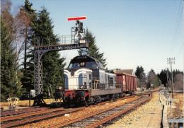CF 198 Train En Gare D' égletons - Egletons