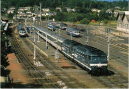 CF 201 Vue Générale De La Gare D'Ussel - Brive La Gaillarde