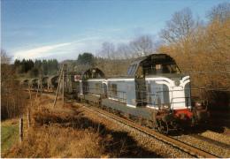 CF 205 Train Militaire Belge Passe Près De Clamons D'Aix - Brive La Gaillarde