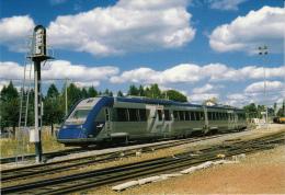CF 206 Train En Gare De Meymac - Brive La Gaillarde