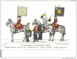 LES REGIMENTS DE L´ANCIENNE FRANCE CPM 1978 BON ETAT - Uniformi