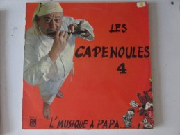 Les Capenoules  4 L Musique A Papa  Raoul De Godewaersvelde    Vinyl  .............patois Picard Ch Ti Ch Timi Lille - Humor, Cabaret