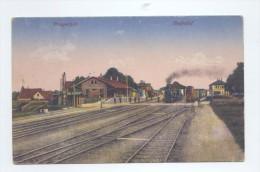 PRAGERSKO / PRAGERHOF, Railway Station / Bahnhof     2 SCANS - Slovenia