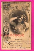 Manon LOTY  - Actrice, Demi Mondaine, Cocotte, Courtisane - 1901  Reutlinger Paris -  Actress, Woman, Courtesan - Cabarets