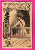 DIETERLE  - Actrice, Demi Mondaine, Cocotte, Courtisane - 1901  Reutlinger Paris -  Actress, Woman, Courtesan - Cabarets