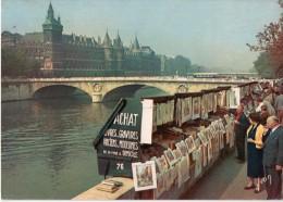 Cpm 1962, Les Bouquinistes, Quai De Gesvres, Conciergerie (22.27) - La Seine Et Ses Bords