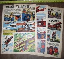 HISTOIRE COMPLETE FEDOR ESCADRILLE LA FAYETTE AVIATEUR AVIATION FOKKER CAPORAL HILL - Oude Documenten
