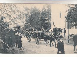 Gent, Exposition Universelle De Gand 1913, Le Roi Entrant à L'exposition Pour L'inauguration Des Floralies (pk12618) - Gent