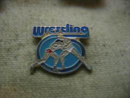 Pin´s Sports De Lutte Wrestling - Lutte