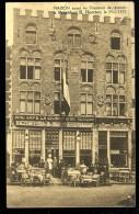 Cpa De Belgique  Brugge Maison Ayant Eu L' Honneur De Recevoir Le Président E. Herriot Le 29-7-1933       MABT15 - Brugge