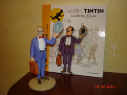 EDITION MOULINSART  SERAPHIN LAMPION A LA MALLETTE DANS TINTIN ET LES BIJOUX DE LA CASTAFIORE - Tintin