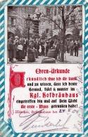 URKUNDE KÖNIGL.HOFBRÄUHAUS MÜNCHEN, Ansichtskarte Gel.1905, Sonderstempel - Advertising