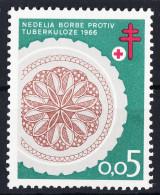 Yugoslavia Republic TBC Anti-tuberculoses Charity Stamp 1966 Mint Never Hinged - 1945-1992 Socialist Federal Republic Of Yugoslavia