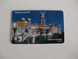 Phonecard/ Telécarte Telecom Card Sintra Palácio Da Pena - 50 Impulsos Portugal Tirage 30000 Ex. - Portugal