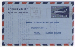 Old Letter - Australia - Airmail