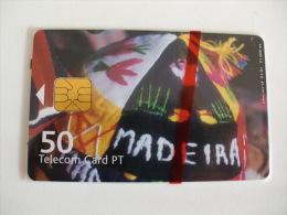 Phonecard/ Telécarte Telecom Card Madeira - 50 Impulsos Portugal Tirage 21000 Ex. - Portugal
