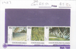 Cocos (Keeling) Islands 1987 Scenes Set MNH - Cocos (Keeling) Islands