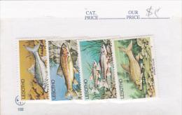Lesotho - Fish Set MNH - Lesotho (1966-...)
