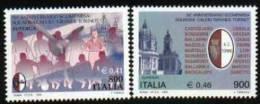 1999 - Italia 2449/50 Stemma Del Torino^ - Francobolli