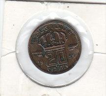 20 CENTIMES Bronze Baudouin I 1959 FR  FDC - 01. 20 Centimes