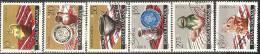 Romania 1972/3 Usato - Mi.3134/39  Yv.2809/14 - 1948-.... Republiken