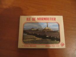 85 ILE DE NOIRMOUTIER CARNET CPSM COMPLET 10 MIGNONETTES 9 X 6.5 CM - Noirmoutier