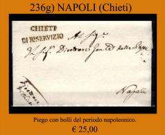 Chieti 00236g - 1. ...-1850 Prefilatelia