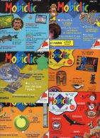 Lot De 6 MOBICLIC   N° 4 , 12 , 13 , 14 , 17 , 18  De 1998 à 1999 CD Rom  Mobiclic   édition Milan   Neuf - CD