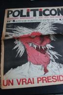 Politicon N°3,Supplement A Zinc,26 Avril 1974 - Libri, Riviste, Fumetti
