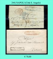 Città Sant'Angelo 00244 - 1. ...-1850 Prefilatelia