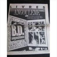 Libération, Sup Livres Du 24/01/91 : Spécial Angoulème - Magazines Et Périodiques