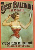 X060, Nos Publicités, J2, Corset Baleinine, Repro, GF,non Circulée - Advertising