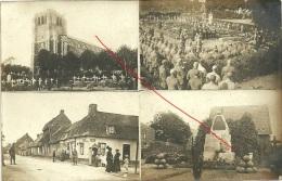 Wk1914 ( 1 Carte Photo ) Frankreich ? / Gottesdienst/Kirche Èglise >/ Grabstein / Denkmal / Soldaten - Guerre 1914-18