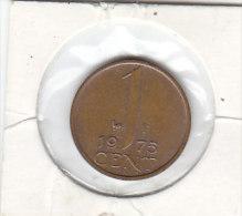 1 CENT  Bronze 1975 - [ 3] 1815-… : Reino De Países Bajos