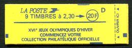 Carnet   Briat   N° Yvert: 2614 C8 - Carnets