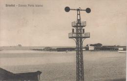 BRINDISI ENTRATA PORTO INTERNO-VG 25/7/1915-TIMBRO NAVE DANDOLO- AUTENTICA D´EPOCA 100% - Brindisi